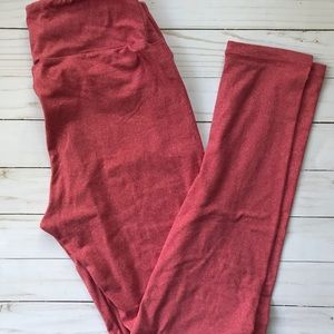 NWOT/EUC LuLaRoe Rose Leggings Size One Size